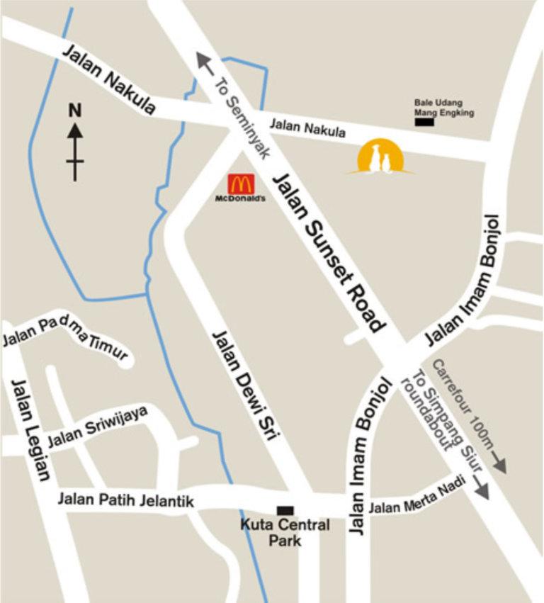Sunset Vet, Nakula Plaza Blok C, Jalan Nakula, Kuta, Bali 80361