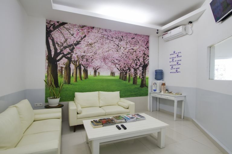 Visitor's Room - visit your hospitalised pet in comfort