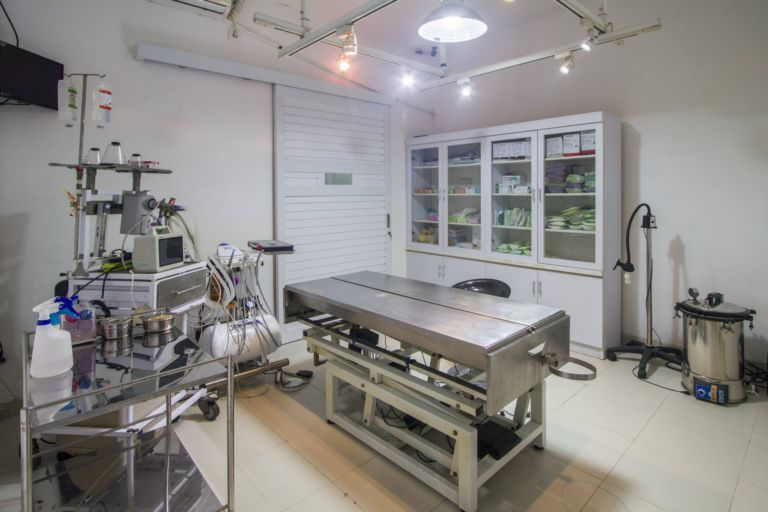 State of the art surgical facilities including dentistry